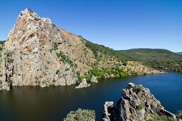 Tajo River in Monfrague National Park, Central Spain