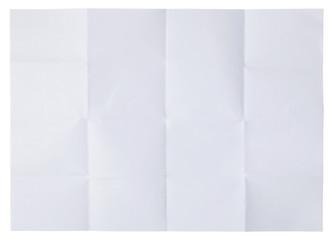 folded blank paper