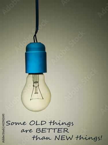 Old things are better than new - age,love, marriage concept,