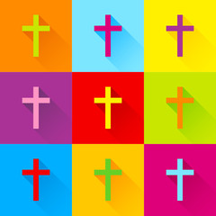 Crosses Color