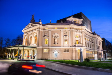 Slovenian National Opera and Ballet Theatre.