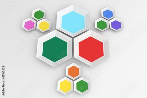 Hexagon shapes