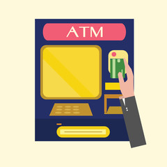 ATM,machine.