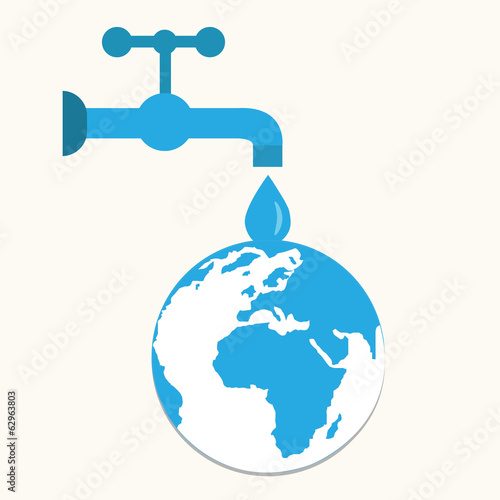 faucets and drops,save world,illustrations