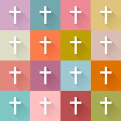16 Crosses Retro