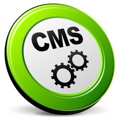 Vector cms 3d icon