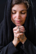 Catholic Woman Praying