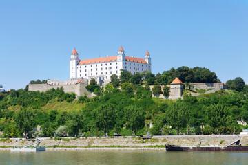 Medieval castle on the hill , Bratislava, Slovakia