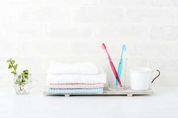 歯ブラシ 洗面所