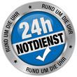 24h Notdienst, Rund um die Uhr