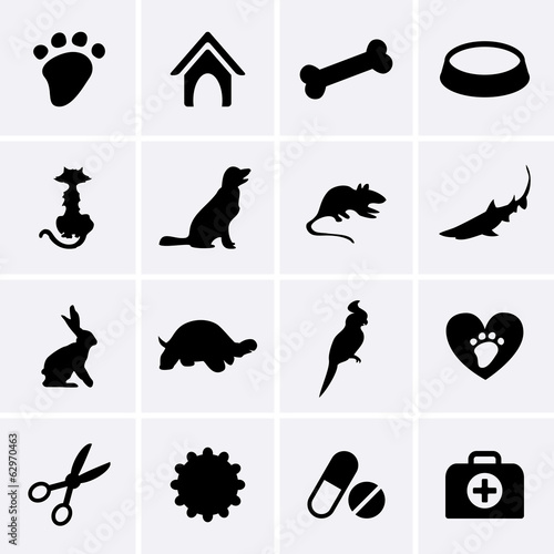 Veterinary Pet Icons