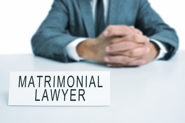 matrimonial lawyer
