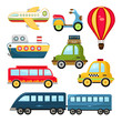 Cute Vector Transportation