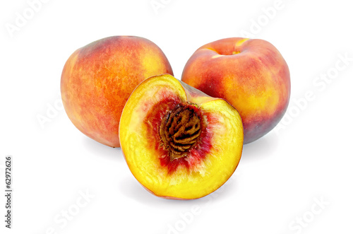 Peaches whole and half