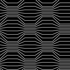 Seamless pattern of broken lines
