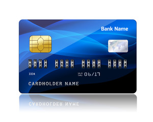 Credit card with security combination code