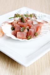 Tuna, bluefin, tartar