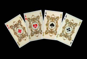 Die Asse der Kaiserkarte