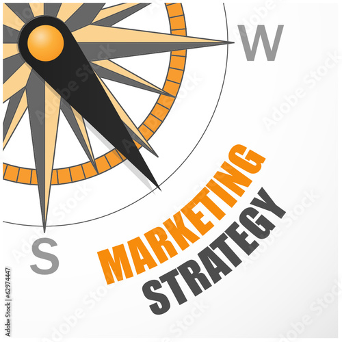 COMPASS pointing to MARKETING STRATEGY (web online)