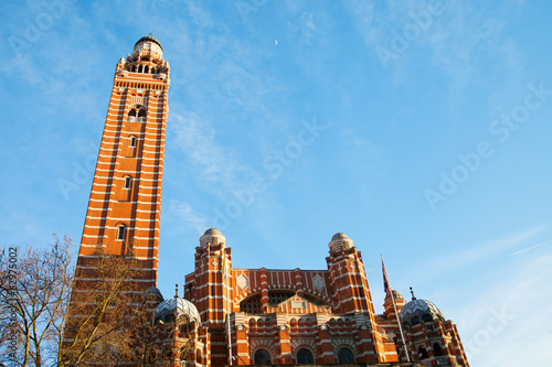 Westminster cathedral, London.