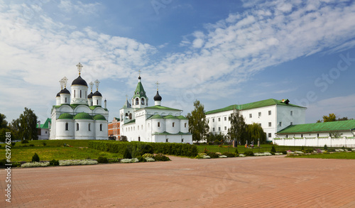 Panorama of the Saviour monastery in Murom. Russia