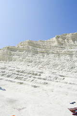 Spectacular coast of Agrigento - Scala dei Turchi