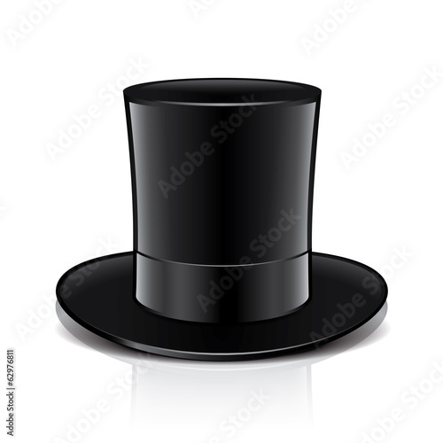 Magic hat vector illustration