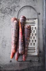 carottes rouge