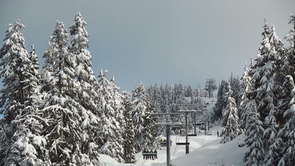 Mount Seymour Chairlift, Vancouver