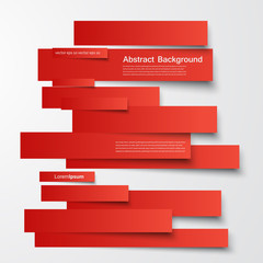 Vector  design. Abstract lines brochure and card