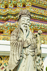 Chinese Statue in Wat Pho
