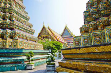 Stupa area in Wat Pho