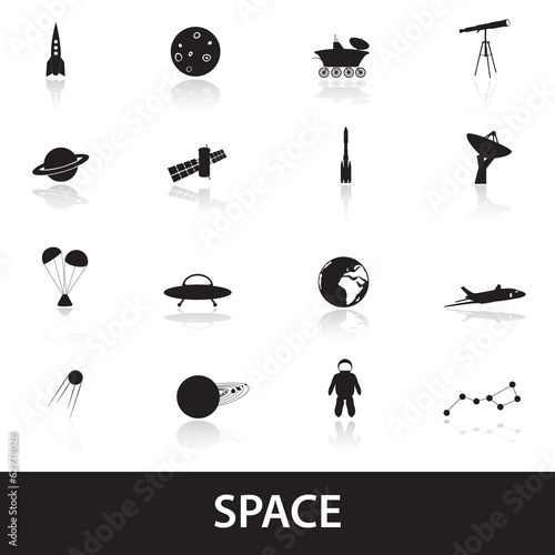 space icons eps10