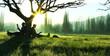 ağaç altında kitap okumak - 62979016