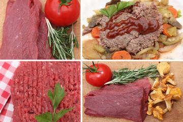 Viande Hachée Pur Boeuf - Girolles Légumes