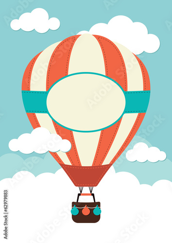 Hot Air Balloon - 62979883