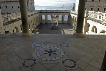 Monte Cassino in Italien