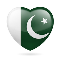 Heart icon of Pakistan