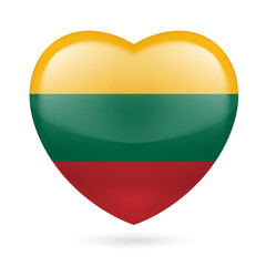 Heart icon of Lithuania