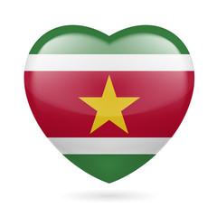 Heart icon of Suriname