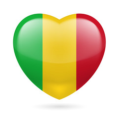 Heart icon of Mali