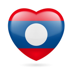 Heart icon of Laos