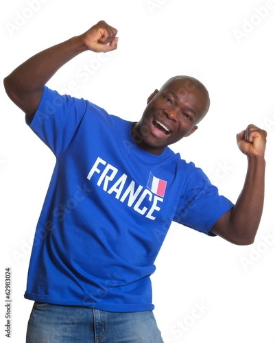 Funny french sports fan