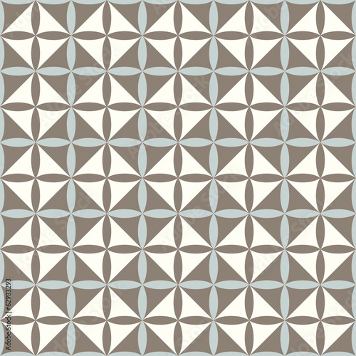 Geometrical retro pattern seamless vector background.  Repeating