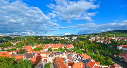 Panorama of Cesky Krumlov