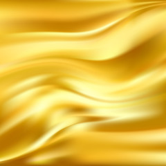 Abstract Vector Texture, Yellow Silk