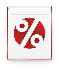 the stylish sale symbol