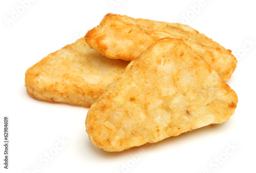 canvas print picture Hash Brown Potato Patties