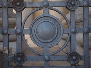 Decorazione di ferro battuto