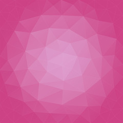 abstract background radiant triangular orchid